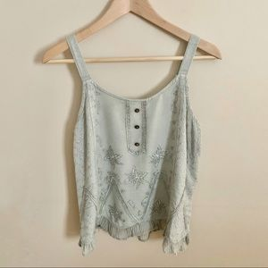2/$20 Casual Distressed Tank Top